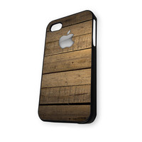 Wood Print iPhone 4/4S Case