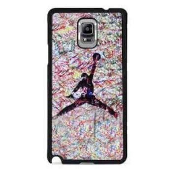 air jordan paint for samsung galaxy note 4 case