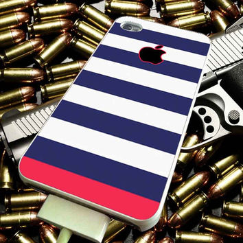 Blue Pink Stripes for iPhone, iPod, Samsung Galaxy, HTC One, Nexus ***