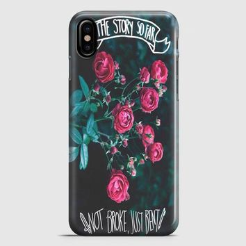 The Story So Far iPhone X Case | casescraft