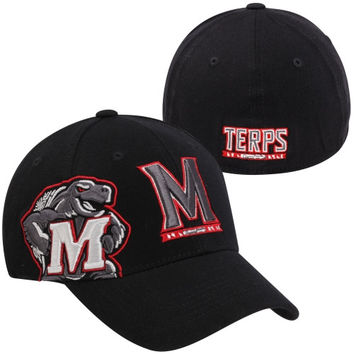 Top of the World Maryland Terrapins Buster BLK Flex Hat - Black