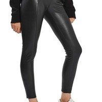 Topshop Percy Faux Leather Skinny Pants (Regular & Petite) | Nordstrom