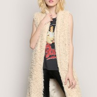 MORE THAN A FEELING VEST - IVORY