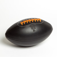 Black Leather Head Handmade Football