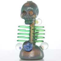 """Carsten Carlile """"Starry Night"""" Skeletal Rib Cage Rig with Marbles"""
