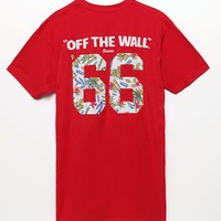 Vans Broloha T-Shirt - Mens Tee - Red