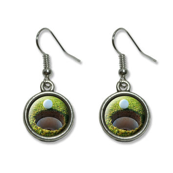 Golf Ball and Hole - Golfing Dangling Drop Earrings