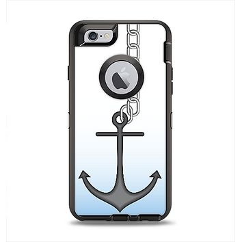 The Gray Chained Anchor Apple iPhone 6 Otterbox Defender Case Skin Set