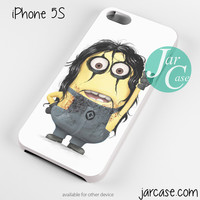 Alice cooper Minion Phone case for iPhone 4/4s/5/5c/5s/6/6 plus