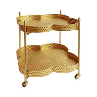 Midas Gold Bar Cart