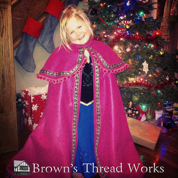 Disney's Anna From Frozen Outfit Women size 6 to 18 Renaissance, Celtic, Viking, Folk