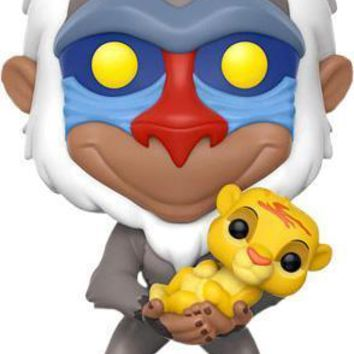 The Lion King | Rafiki with Simba POP! VINYL