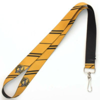 "Harry Potter Hufflepuff 19"" Elastic Lanyard Licensed"