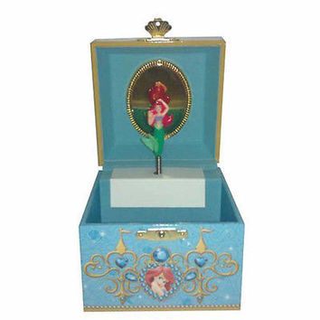 disney parks ariel signature musical jewerly trinket box new