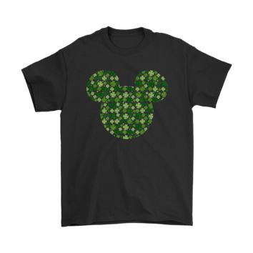 PEAP3CR Saint Patrick's Day Shamrock Disney Mickey Shirts