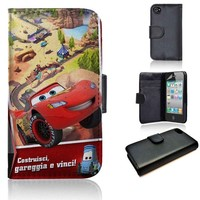 Cars Fast as Lightining | wallet case | iPhone 4/4s 5 5s 5c 6 6+ case | samsung galaxy s3 s4 s5 s6 case |