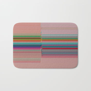 Off-Kilter Bath Mat by duckyb
