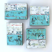 Commission your own word painting, Beach Cottage decor