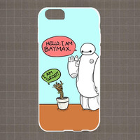 I am Baymax I am Groot iPhone 4/4S, 5/5S, 5C Series Hard Plastic Case