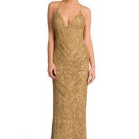 Drop Dead Gold Gorgeous Gown  | Rent The Runway