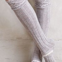 Cabled Over-the-Knee Boot Socks by Anthropologie