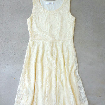 Buttercup Lace Dress