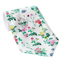 Colorful Floral Flower Pattern Neck Tie