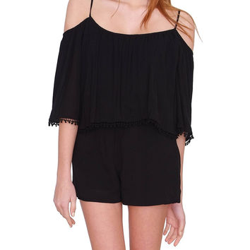 Madrid Romper Black