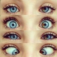 tbh the splash of brown in her eyes - image #1487804 by aaron_s on Favim.com