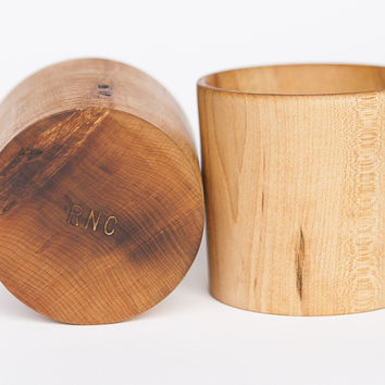 Wooden Whisky Tumblers (Set of 2)