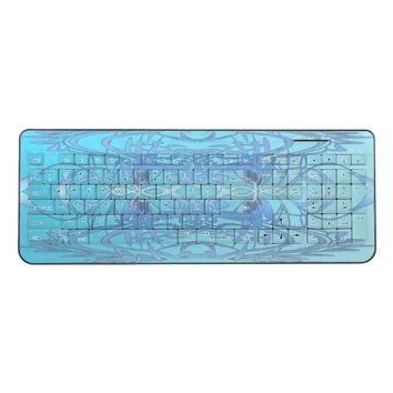 Blue Wings Wireless Keyboard