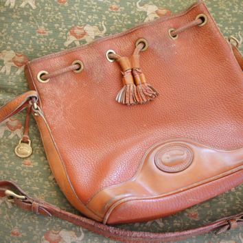 Vintage 80s-90s Dooney & Bourke Shoulder Bag Purse