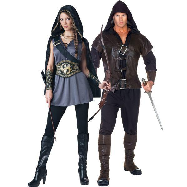 sc 1 st  wanelo.co & Huntress and Assassin Couples Costumes from Party City | Costumes