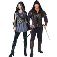 Huntress and Assassin Couples Costumes