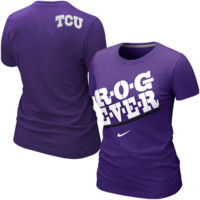 Nike TCU Horned Frogs Women's Frog Fever Local T-Shirt - Purple