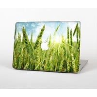 "The Sunny Wheat Field Skin Set for the Apple MacBook Pro 13"" with Retina Display"