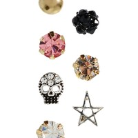 ASOS Singles Grunge Earrings Pack
