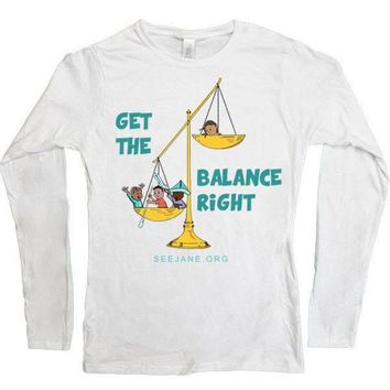 Get the Balance Right -- Women's Long-Sleeve