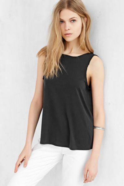 9160af1bf25 Silence + Noise Modern Twist-Back Tank from Urban Outfitters