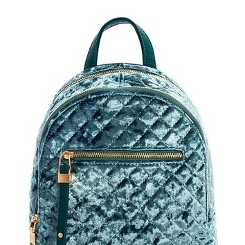 Princess Velvet Backpack | Teal