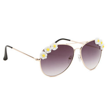 With Love From CA Daisy Aviator Sunglasses at PacSun.com