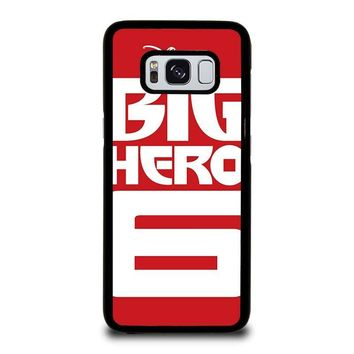 BIG HERO 6 '1 Disney Samsung Galaxy S3 S4 S5 S6 S7 Edge S8 Plus, Note 3 4 5 8 Case Cover