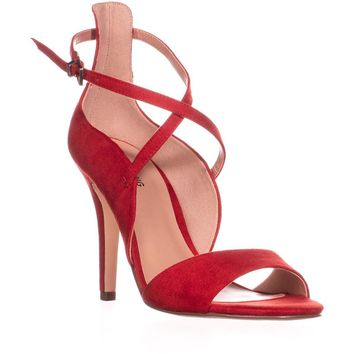 Call It Spring Hauwet Ankle Strap Sandals, Red, 8 US / 38.5 EU