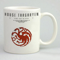 House Of Targaryen Game Of Thrones Mug, Tea Mug, Coffee Mug
