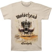 Motorhead Men's  DS EXL Aftershock T-shirt Sand