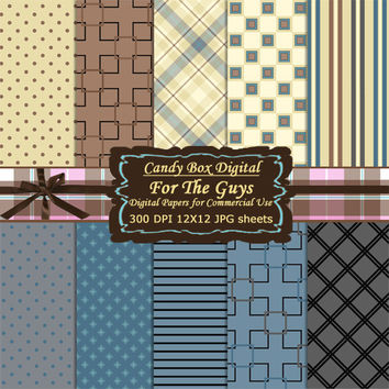 Mens Paper, Fathers Paper, mens digital, fathers digital, mens scrapbook, fathers scrapbook, fathers day paper - Commercial Use OK