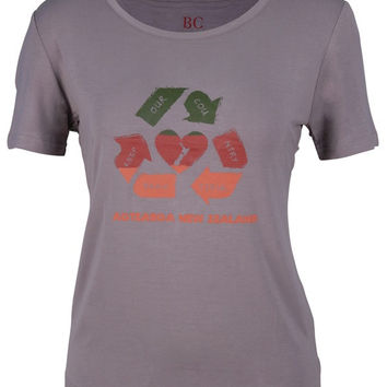 Luv 2 Recycle Ladies Tee