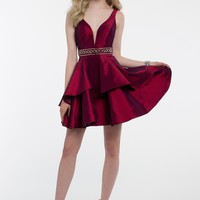 Beaded Trim Tiered Dress from Camille La Vie and Group USA