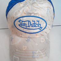 Vintage Von Dutch Girl Trucker caps hat