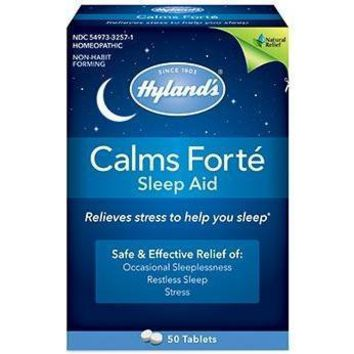Hylands Homeopathic Calms Forte - Sleep Aid - 50 Tablets